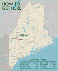 Portland Maine Map by Maine Huts U0026 Trails How To Get To The Trail Heads