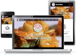 china restaurant web design