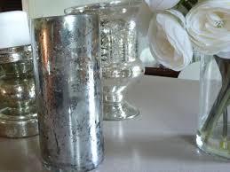 Mercury Glass Urn Vase Diy Mercury Glass Bliss At Home
