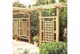Wooden Planter Box Plans Free by Free Planter Box And Trellis Woodworking Plan