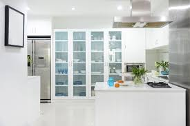 custom kitchen cabinet doors with glass designing your kitchen with glass fronted cabinets