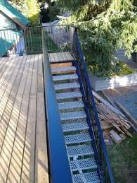 welded aluminum prefab stairways galvanized stairs industrial