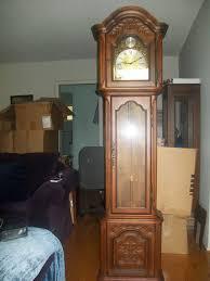 Barwick Clocks Vintage Grandfather Clock 1960 U0027s Barwick Howard Miller