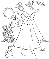 aurora coloring pages printable coloringstar