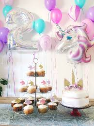 2 year birthday 2 year unicorn birthday party party unicorn