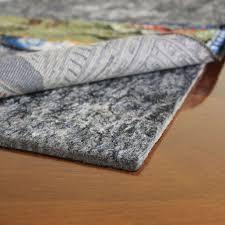 cushioned rug pads natural lock