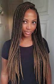 ombre crochet braids 60 totally chic and colorful box braids hairstyles to wear