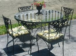 Iron Patio Table And Chairs Patio Table And Chairs Lifeunscriptedphoto Co