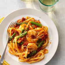 mediterranean shrimp u0027n u0027 pasta recipe taste of home