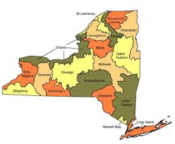 map of new your fish atlas maps of new york nys dept of environmental conservation