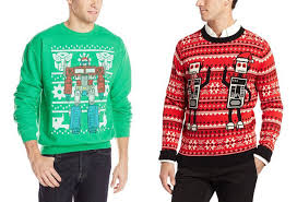 ugly robot christmas sweaters and other bling for your robot