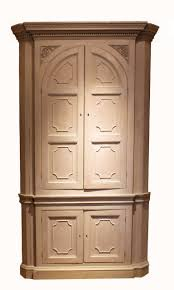 Cupboard Design Antique Painted Corner Cupboard For Sale At 1stdibs