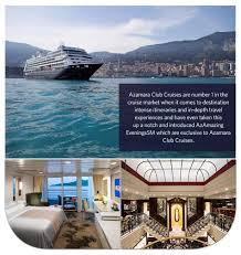 azamara club cruises whats included www cruise co uk