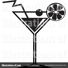 cocktail clipart black and white cocktail clipart 65967 illustration by prawny