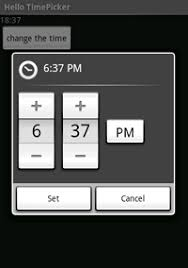 timepicker android how do i make xamarin android timepicker look to look like the