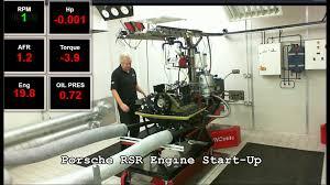 porsche rsr engine bsmotorsport porsche rsr engine start up youtube