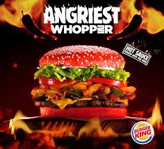 cuisine burger แดงทะล แป ง burger king ปล อยเบอร เกอร ใหม รสชาต ส ดเผ ดร อน