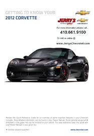 2012 chevrolet corvette in baltimore maryland