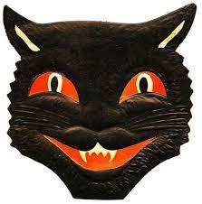 Vintage Halloween Decorations Printable Vintage Halloween Cats U2013 Fun For Christmas