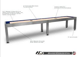How To Play Table Shuffleboard 14 Foot Hudson Metro Shuffleboard Table