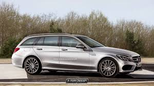 mercedes c class station wagon 2015 mercedes c class rendered in coupe and wagon