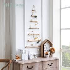 miz handmade craft wooden ladder hanging decoration