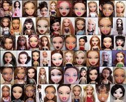 barbie bratz compare side side recomparison