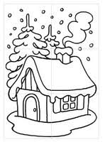 coloring pages preschool worksheets winter drawing