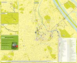 Bus Map Nyc Map Of Vienna Tourist Attractions Sightseeing U0026 Tourist Tour
