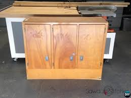 Cabinet Kitchen Diy Trash Can Cabinet Projects Instructions