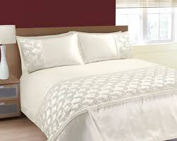 Uk Bedding Sets Single Size Luxurious Sparkling Sequins And Embroidered