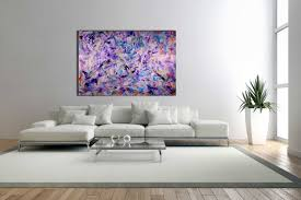 sold iridescent purple echoes by l a artist nestor toro