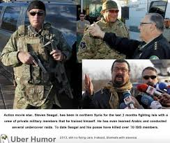 Badass Guy Meme - steven seagal is a true badass i never expected him to do this