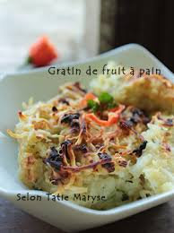 cuisiner le fruit de l arbre à le gratin de fruit à raffinement et délice