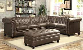 Tufted Brown Leather Sofa Brown Leather Tufted Sofas Leather Company Button Tufted Brown