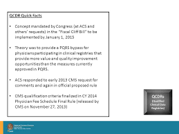 pqrs registries overview of medicare s regulatory programs bob jasak deputy