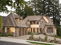 brick house facades european stone cottage house plans stone