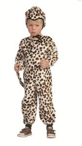 cheetah jumpsuit plush leopard jumpsuit child costume
