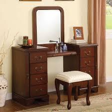Bedroom Set With Vanity Dresser Outstanding Bedroom Set With Vanity Dresser Collection Including