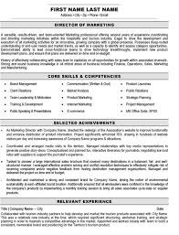marketing sales resume resume of marketing templates magisk co