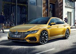 volkswagen yellow volkswagen arteon coupe 2017 photos parkers