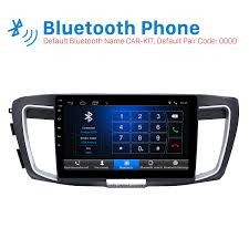 connect android to car stereo usb inch hd touch screen android 6 0 car stereo for 2016 honda accord