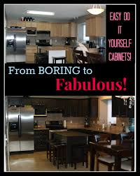 Refurbishing Kitchen Cabinets Yourself How To Refinish Kitchen Cabinets With No Sanding Coffee Chat