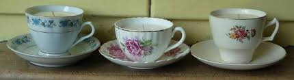 tea cup candle vintage tea cup soy wax scented candles