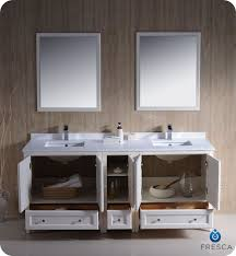 72 oxford traditional sink bathroom vanity white
