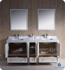 72 oxford traditional sink bathroom vanity white
