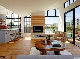 contemporary open floor plans and kimo bertram s floating house in san francisco is a