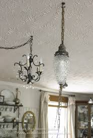 Rewiring A Chandelier by Far Above Rubies Mid Century Light Fixture For The Kitchen