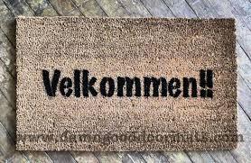 velkommen it u0027s norwegian and danish for welcome damn good doormats