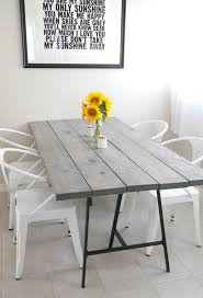Diy Dining Room Tables Diy Dining Table Projects Decorating Your Small Space
